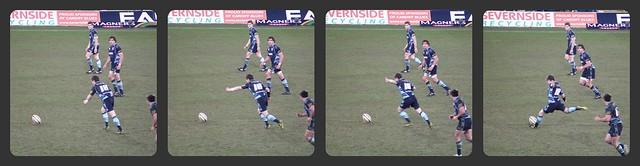 Blues v Leinster-Sweeney Kick