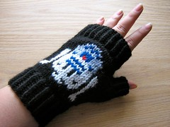 R2D2 Fingerless Glove
