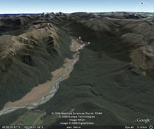 google earth milford sound 1