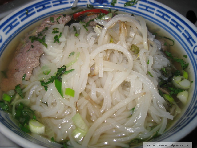 Phở close up