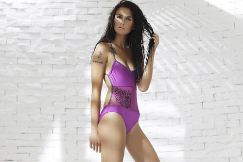 Freeway Summer 11 Tattoo Collection- One Piece with Mesh Panel P1195