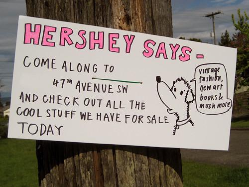 Hershey Says