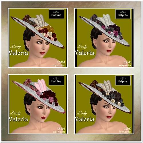 Hatpins - Lady Valeria