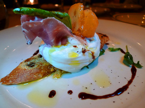 Crostino di Burrata @ Firenze Osteria