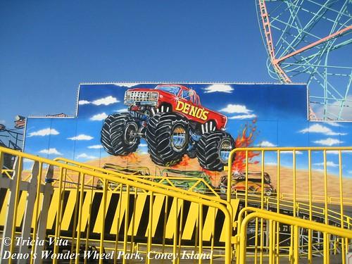 Monster Truck Mural