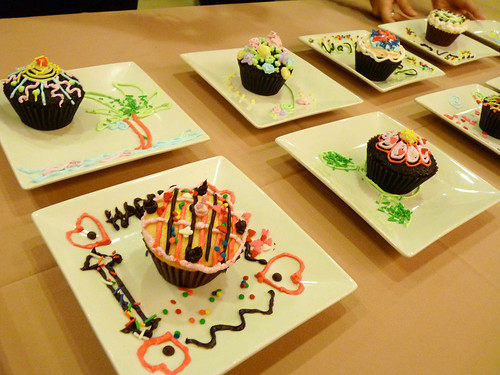 Cupcake Designs made by others at Max's Corner Bakery