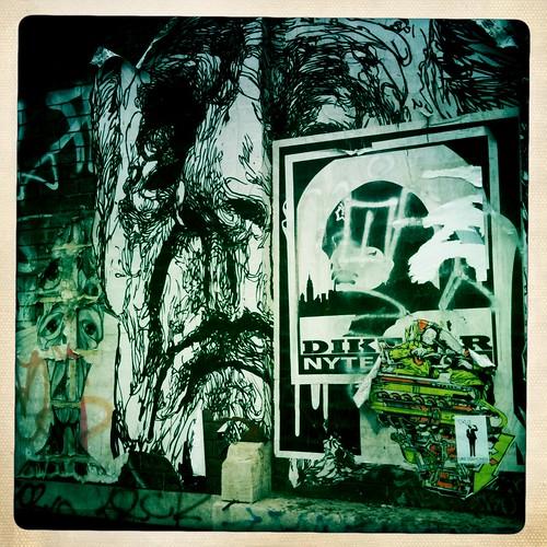 Street Art by Lorimer L Train