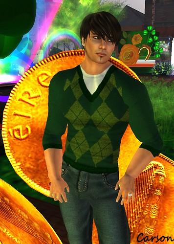 Cilian'gel Green-Grass Sweater