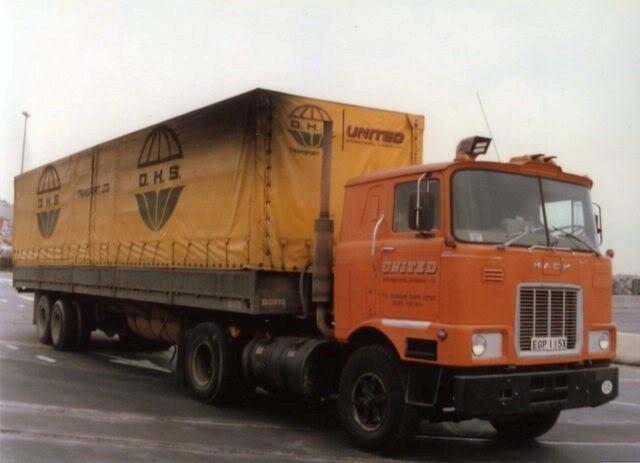 4x2 Mack which was running bto M/E