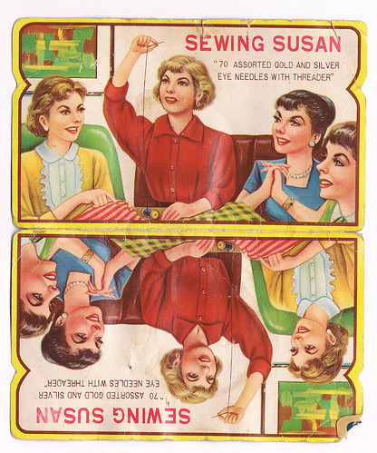 Sewing Susan - needles pack exterior by William J. Gibson, the Canuckshutterer