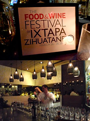 Food & Wine Ixtapa event at Red O