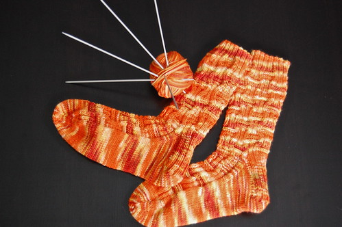 Cheez-ee Pouf Socks!