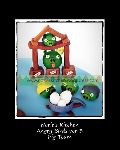 Norie's Kitchen - Angry Birds 3 - Pig Team