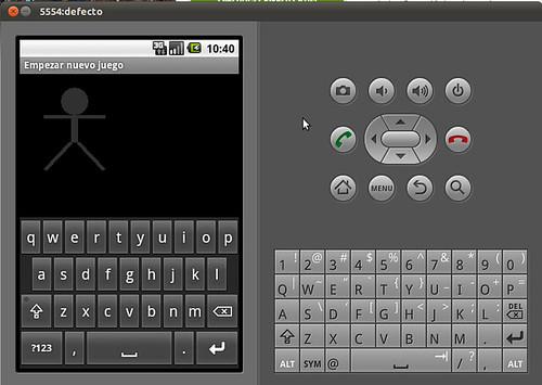 Android con teclado soft