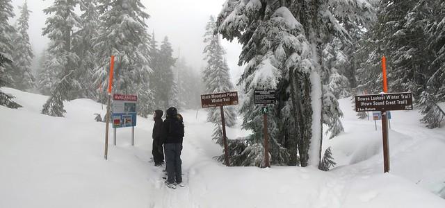 Black Mountain Plateau Winter Trail