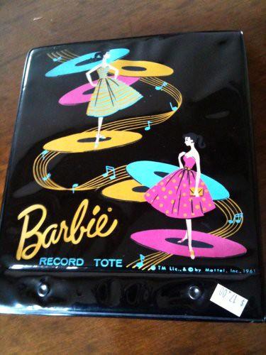 1961 Barbie record tote