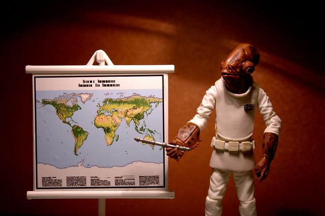 """""""It's a map!"""""""