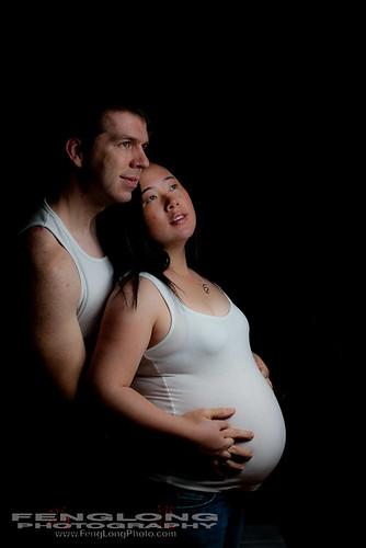 [Atlanta Maternity Photographer] Betty & Xiao Miles