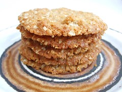 Ginger crunch cookies