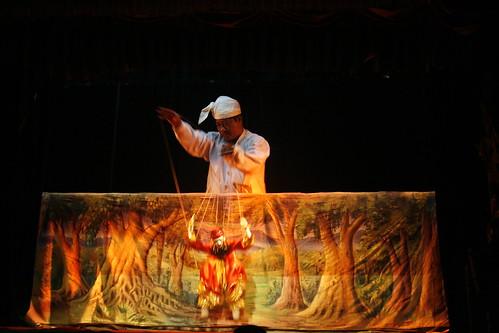 Espectáculo de marionetas en Mandalay