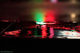 neon rain paint