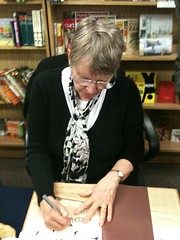 Lois Lowry signing Crow Call - 3/21/11