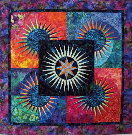 Surfacing, May 2011 Gallery Exhibit @Quiltworks