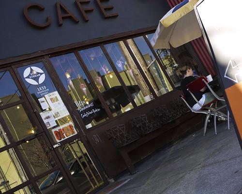Starstream Cafe, on Harrison Street, SF
