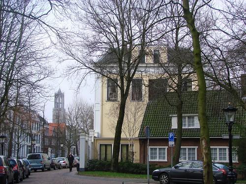 Nieuwegracht en de Domtoren