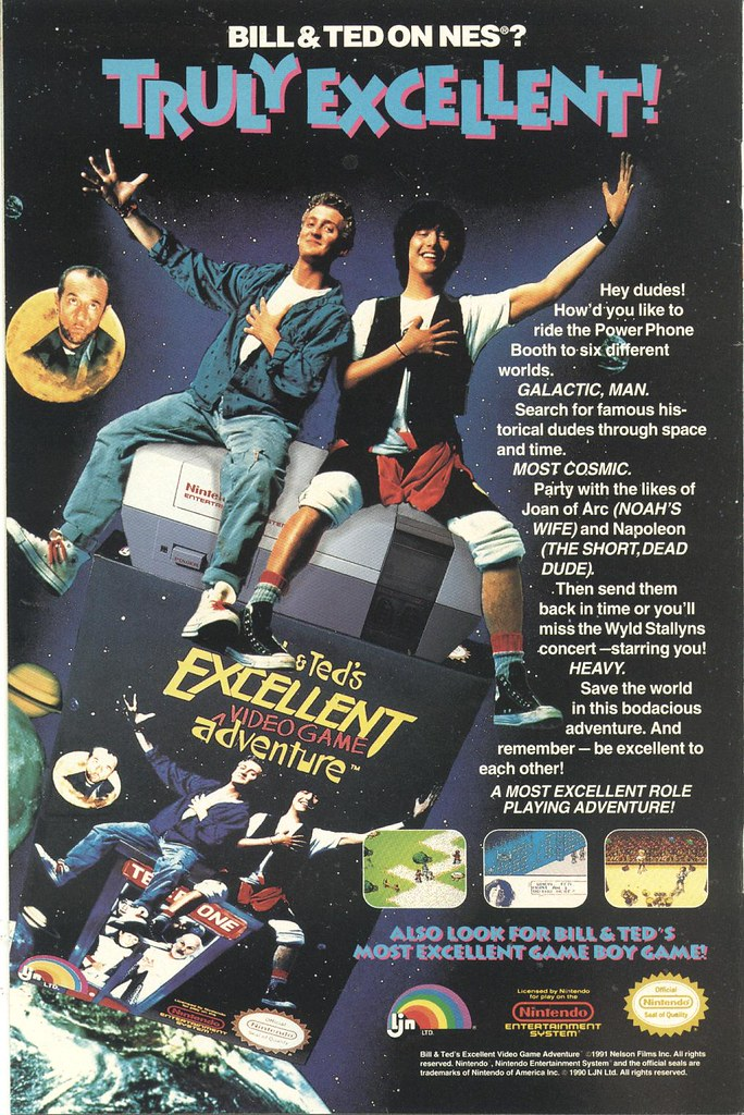 NES Bill and Ted
