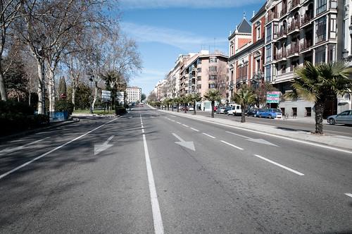 Madrid en domingo