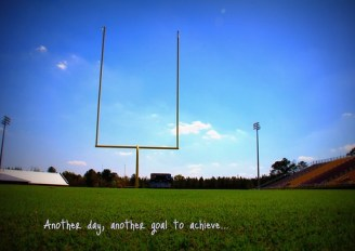 Day 80: Wide Open Goals