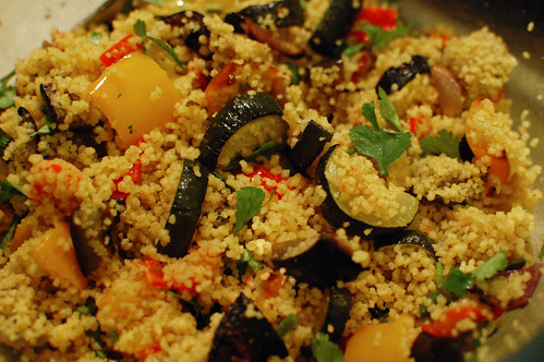Curried Roast Vegetable Couscous