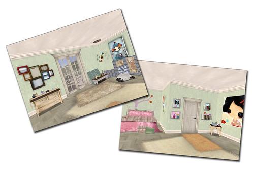 Style - Bluebonnet bedroom