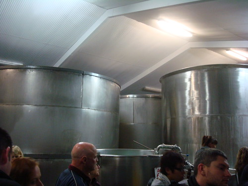 Monteith's brewery tour!