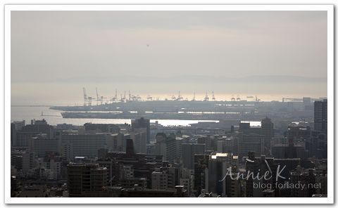 神戶_纜車俯瞰港口