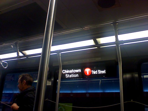 Muni to Chinatown Station?