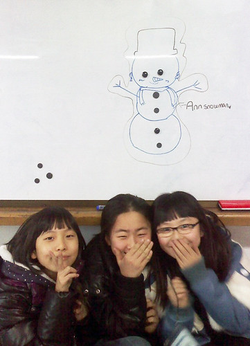 5th grade Winter English Camp