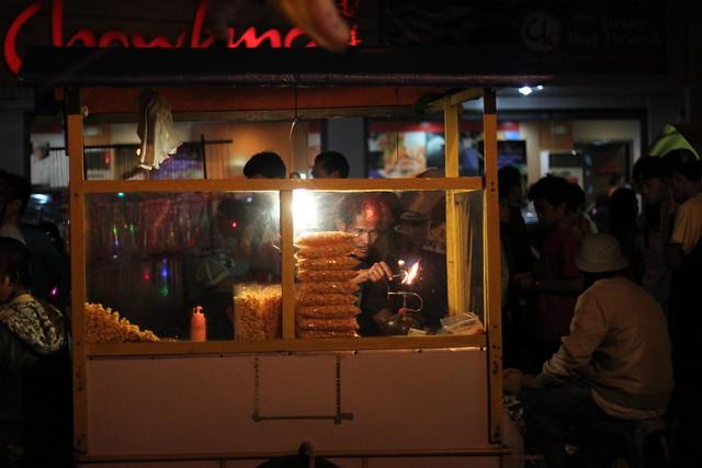 Popcorn vendor in Bacolod - 2
