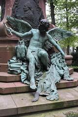 Am Lessing-Denkmal (4) - Allegorie der Kritik