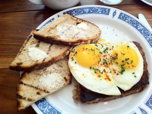 (Just spotted Scrapple And Eggs on @Foodspotting)