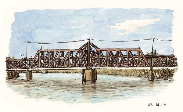 i st bridge, sacramento