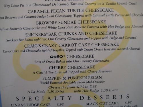 Craig's Crazy Carrot Cake Cheesecake