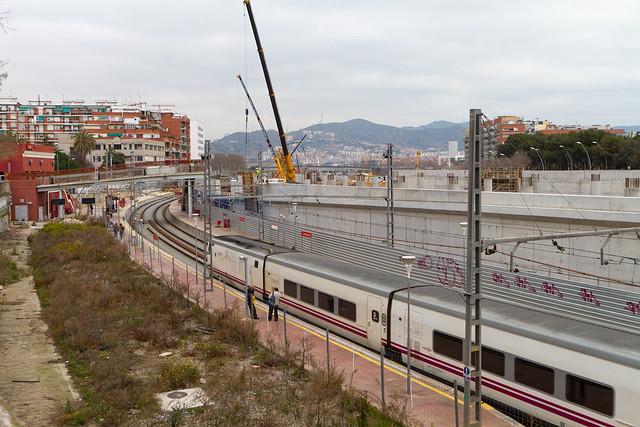 Estació de Sant Andreu - 11-03-11