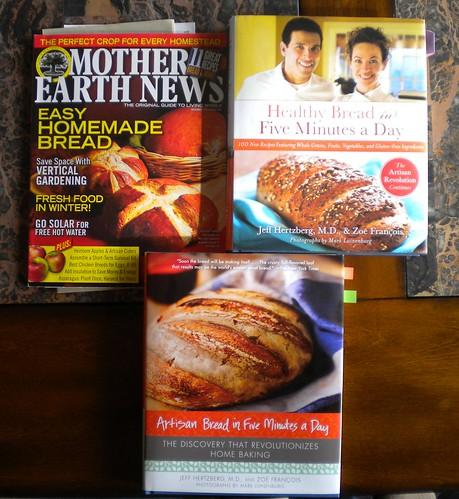 Libros para hacer pan
