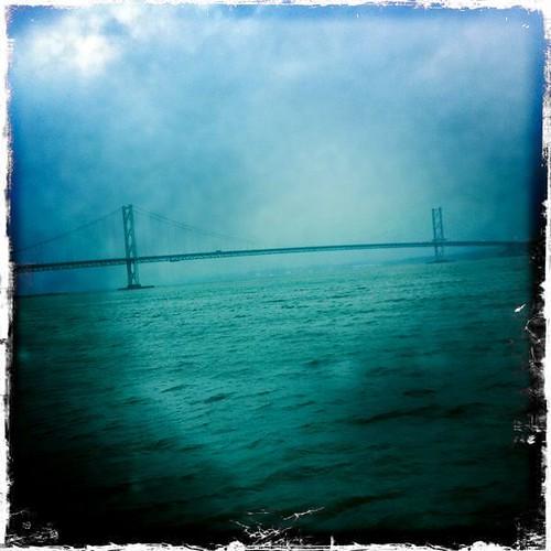 Forth Road Bridge Hipstamatic