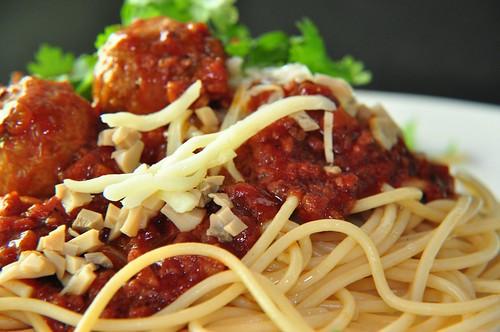 MigLemon's spaghetti meatballs