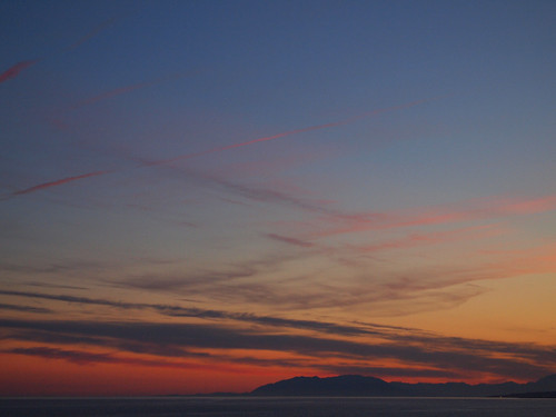 Another beautiful sunset in El Morche, April 2011