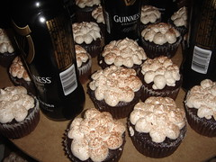Guiness Cupcakes at Dessert Wars