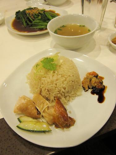 Chicken Rice at Wee Nam Kee